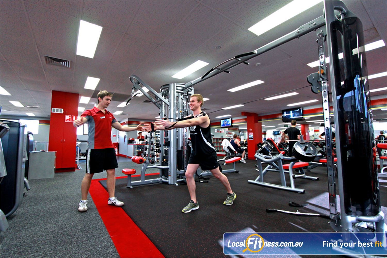 Snap Fitness Near Bayswater North Croydon personal trainers can tailor a strength program to suit you.