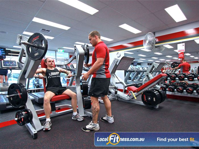 Snap Fitness Croydon Gym Fitness State of the art plate loading
