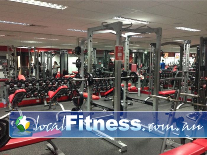 Snap Fitness Gym Indooroopilly  | Heavy duty training with our full power rack.