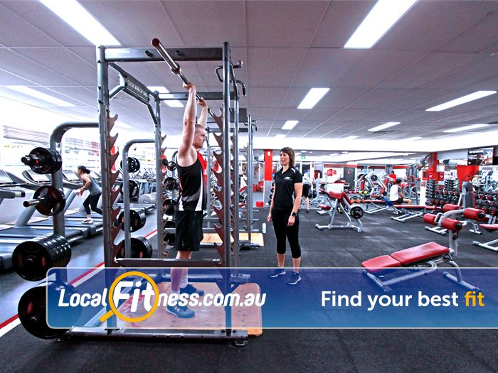 Snap Fitness Gym Mount Waverley  | Our Camberwell gym includes a fully equipped free-weights