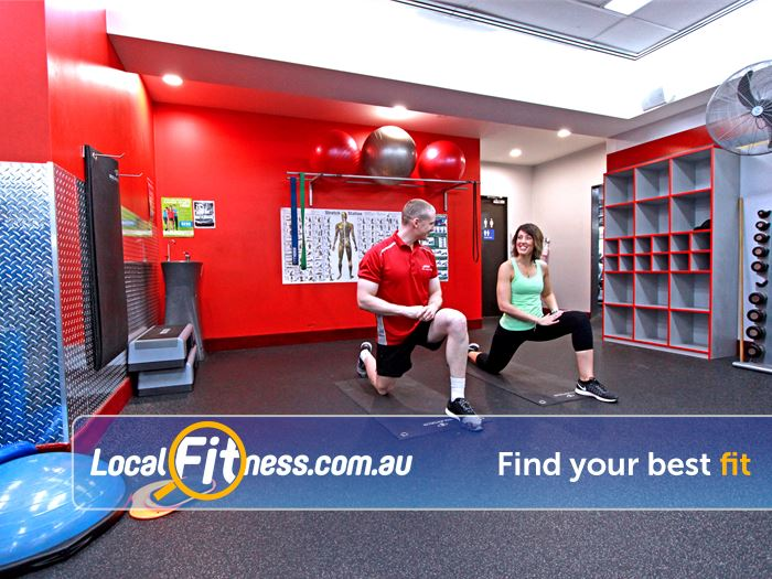 Snap Fitness Glen Iris Gym Fitness Spacious stretching and abs
