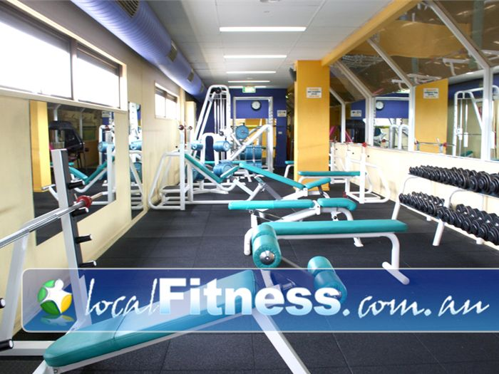 Greenhouse Training Studio Gym Clayton  | Our extensive range of free-weights equipment.