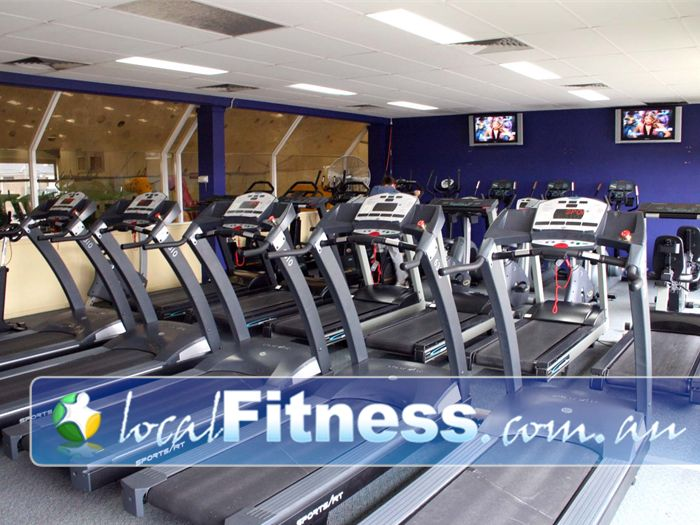 Greenhouse Training Studio Gym Mulgrave  | Enjoy our naturally-lit cardio theatre.