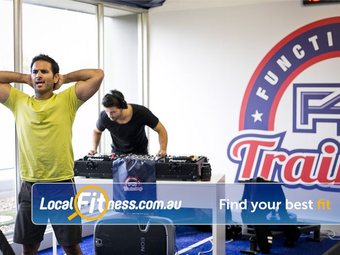 F45 Near Ashfield F45 provides a music-pumping, heart racing Bayswater HIIT gym atmosphere.