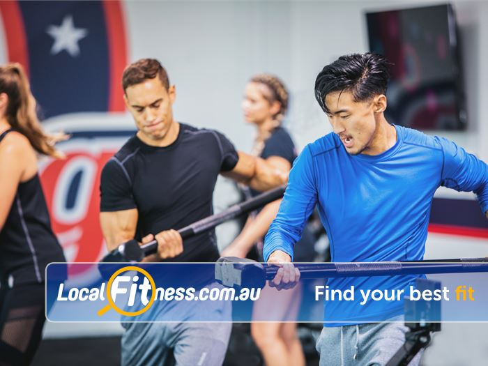 F45 Bayswater Bayswater group fitness providing High Intensity Interval Training sessions.