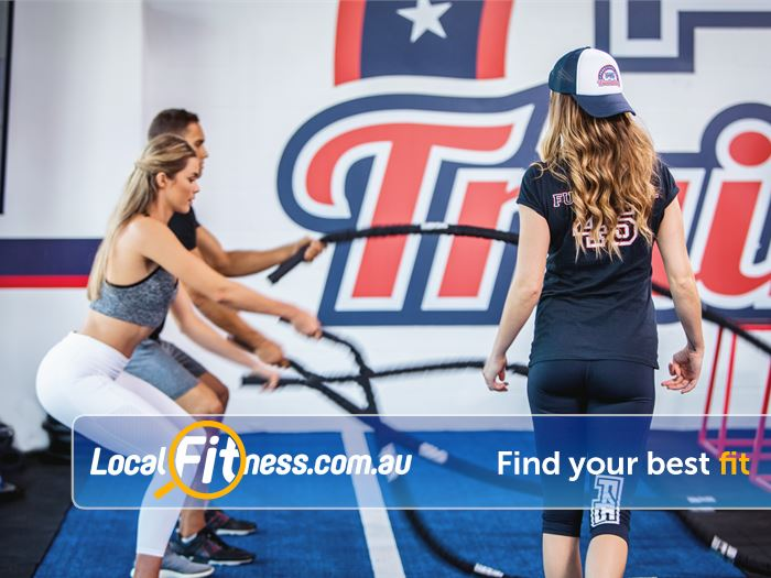 F45 Bayswater F45 sessions focus on Bayswater functional training workouts.