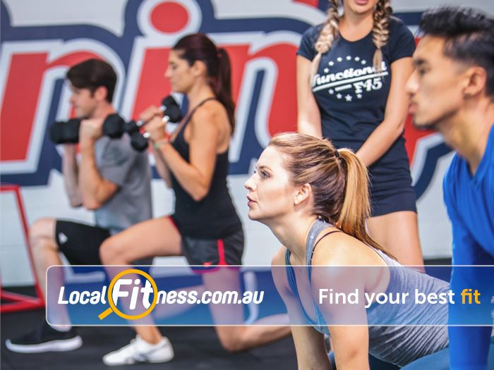 F45 Bayswater Our gym is designed for Bayswater HIIT training sessions.