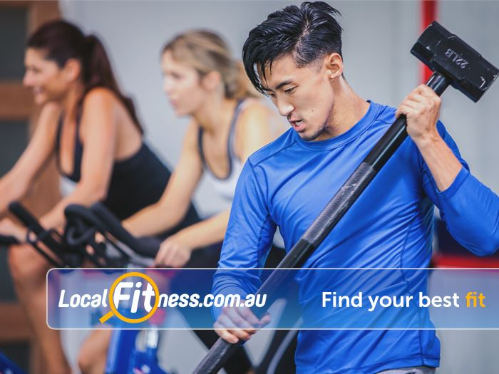 F45 Near Ashfield Our group sessions focus on High Intensity Interval training methods.