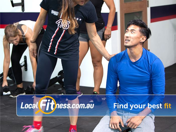 F45 Near Ashfield Our functional training workouts can burn up to 600 - 900 calories.