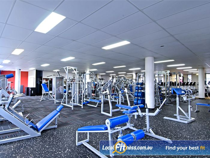 Goodlife Health Clubs Gym Fortitude Valley  | The spacious Goodlife Ashgrove gym, an inner-urban haven.