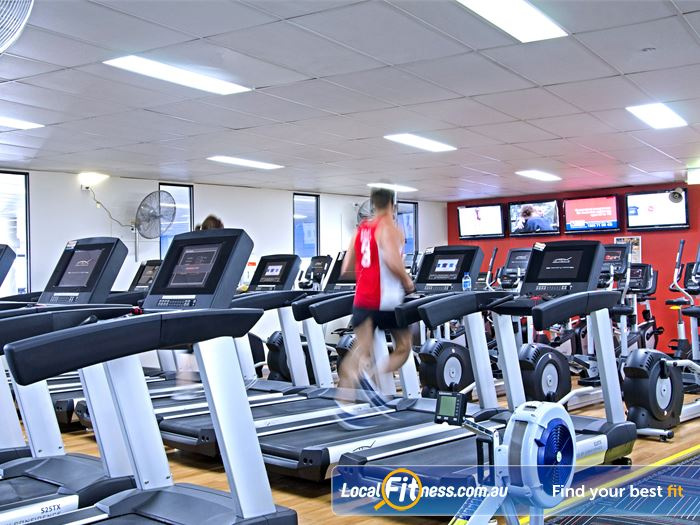 Goodlife Health Clubs Bardon Gym Fitness Fully equipped abs and