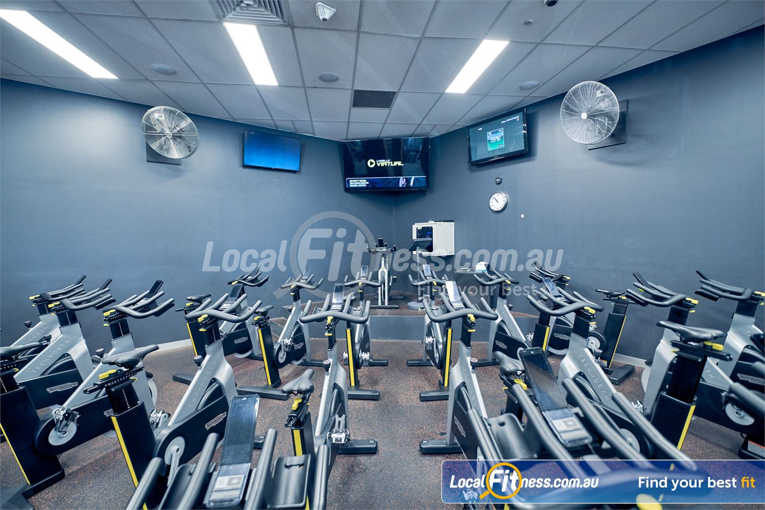 Eltham Leisure Centre Near North Warrandyte The dedicated Eltham cycle studio with virtual cycle technology.