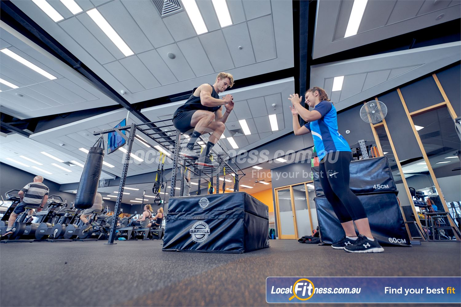 Eltham Leisure Centre Eltham Improve your athletic performance in our functional training zone.
