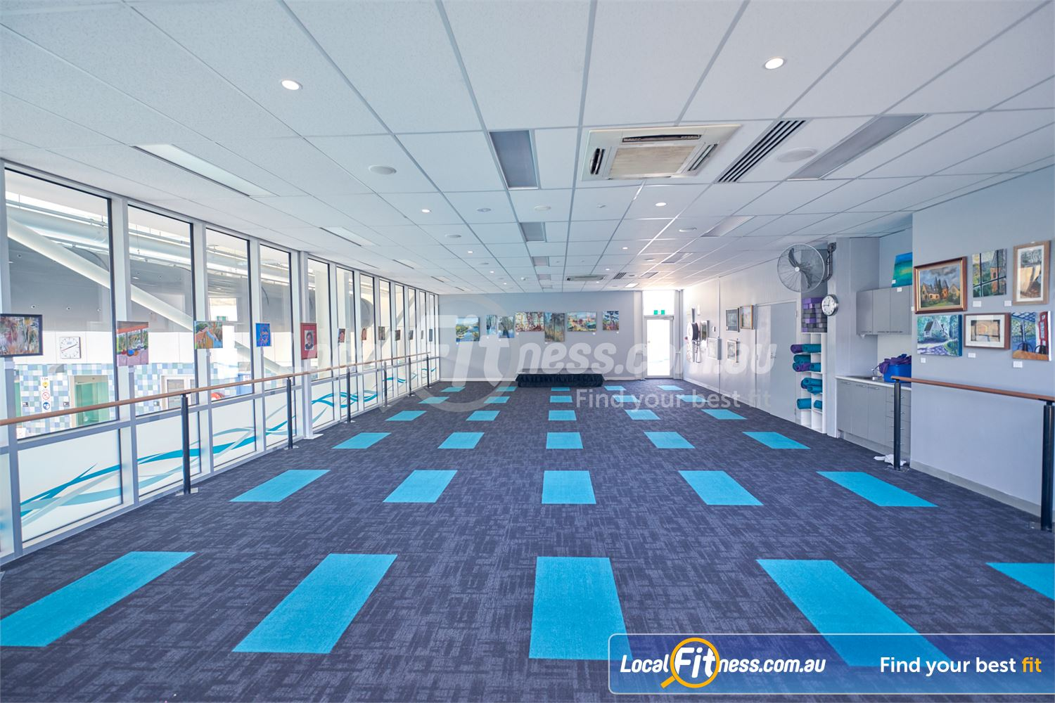 Eltham Leisure Centre Near Research Dedicated Yoga studio running Barre, Pilates and Eltham Yoga classes.