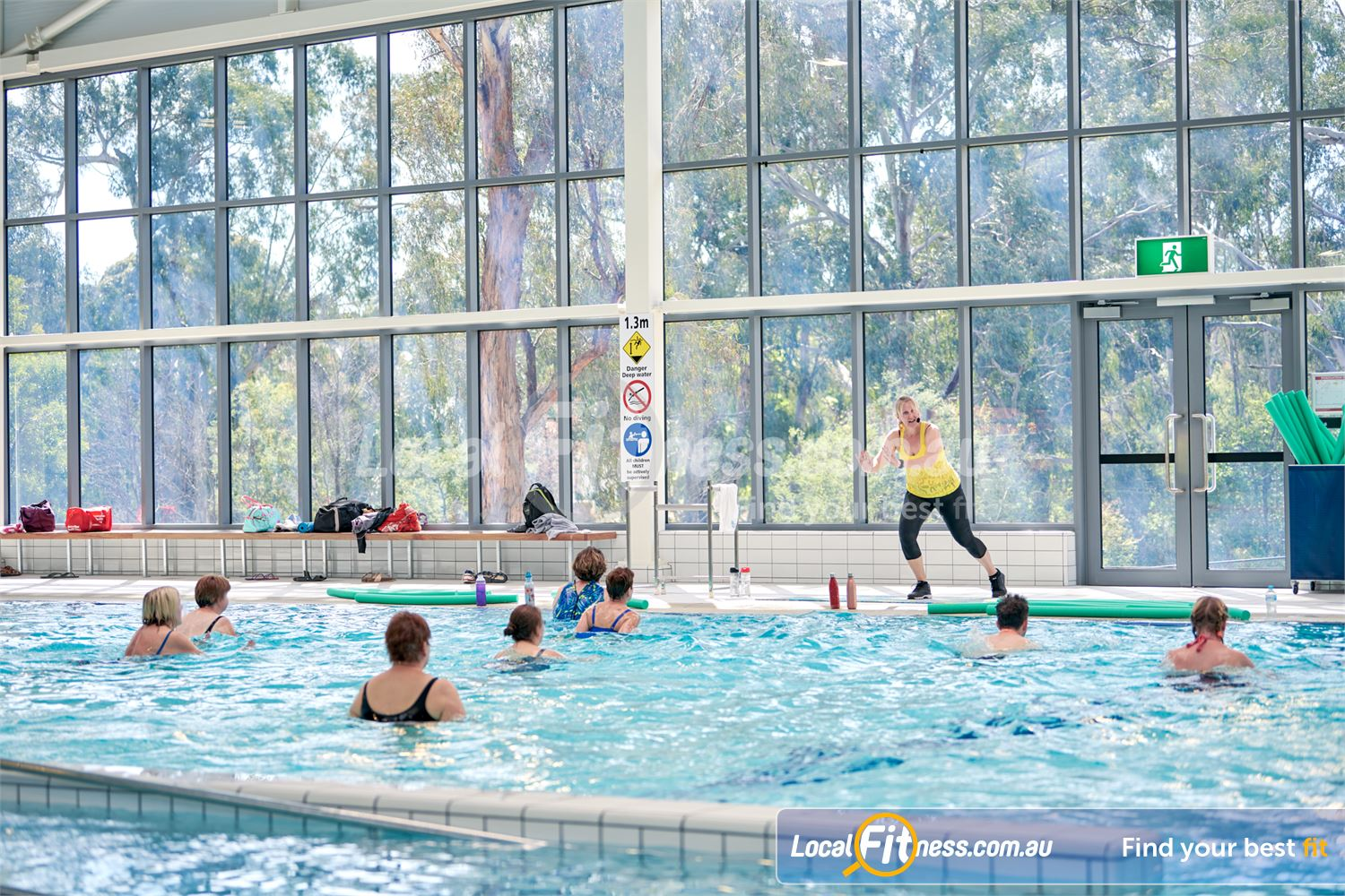 Eltham Leisure Centre Near Templestowe Try our range of aqua classes inc. Aqua Zumba.