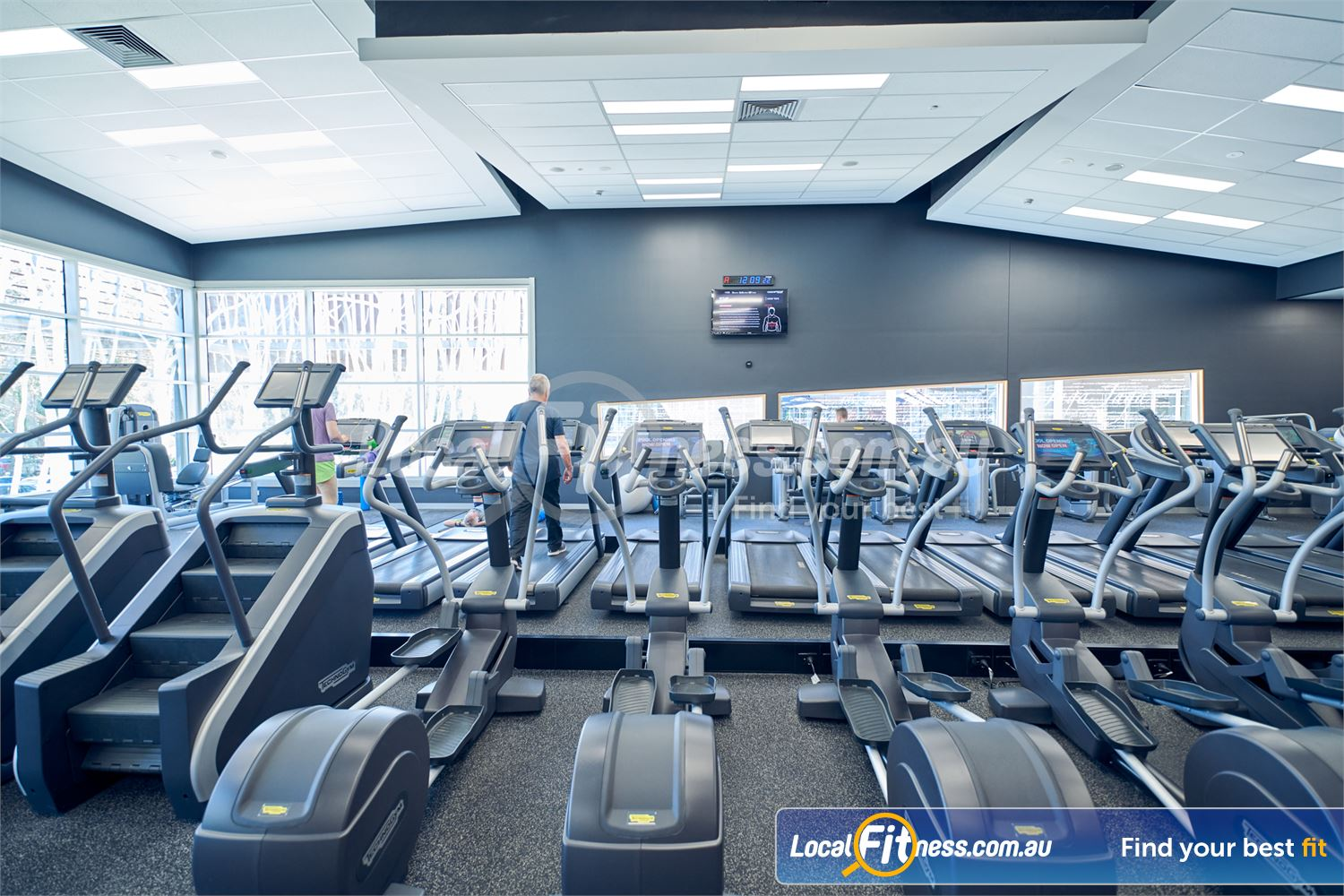 Eltham Leisure Centre Eltham A full range of cardio inc. treadmills, cross trainers and more.