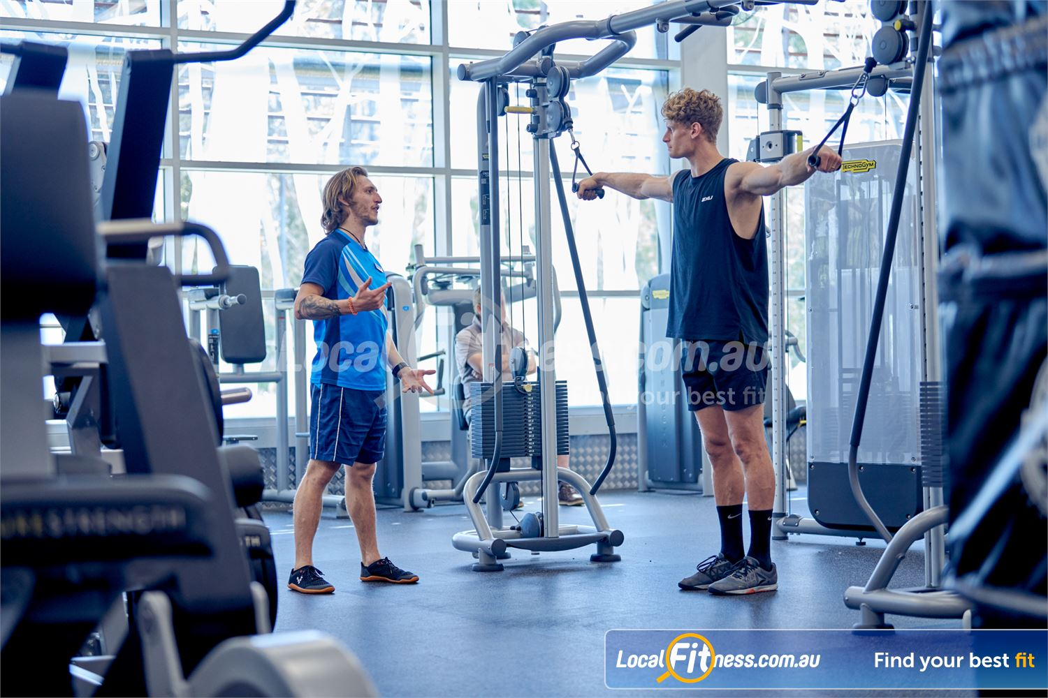 Eltham Leisure Centre Near Research Our Eltham personal training team can help you with your strength training.