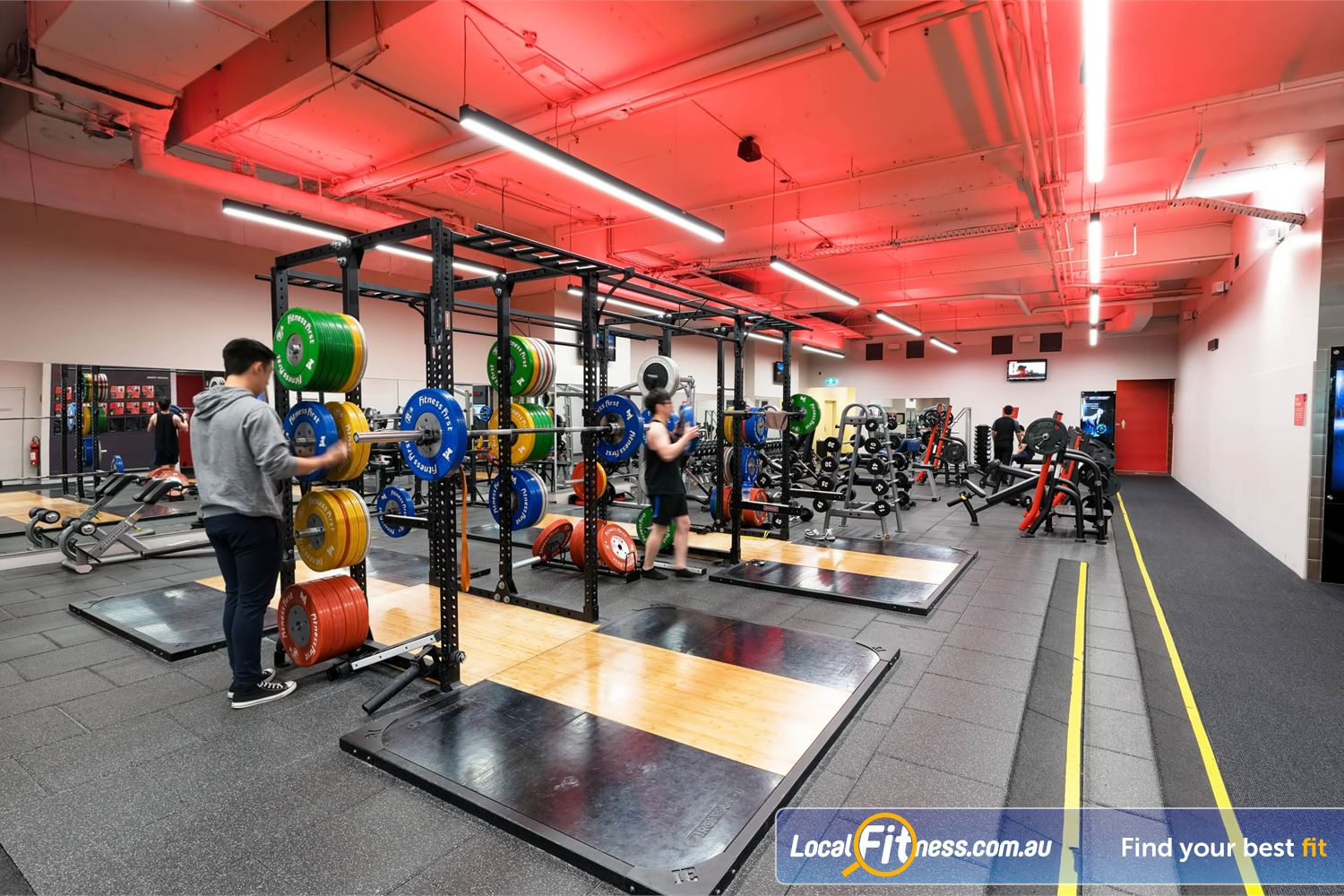 Fitness First Platinum Park St Sydney Welcome to the innovative Fitness First Park St Sydney gym.