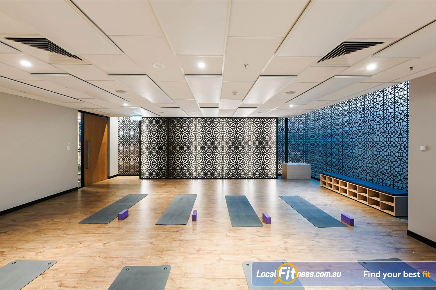 Fitness First Platinum Park St Sydney One of our defining features, our dedicated Sydney HOT Yoga studio.