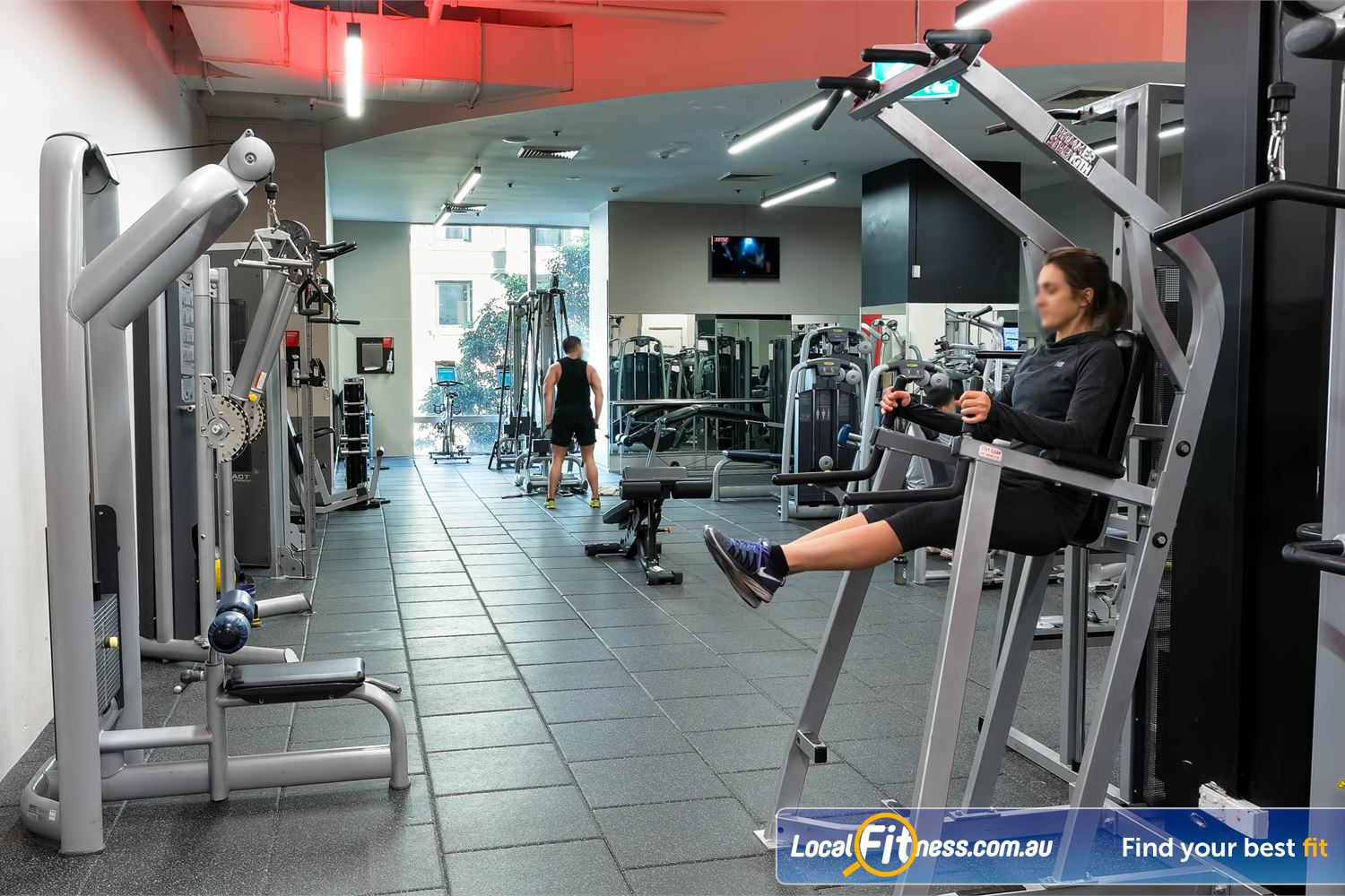 Fitness First Platinum Park St Near Alexandria Mc Our Sydney gym includes state of the art Life Fitness pin-loading equipment.