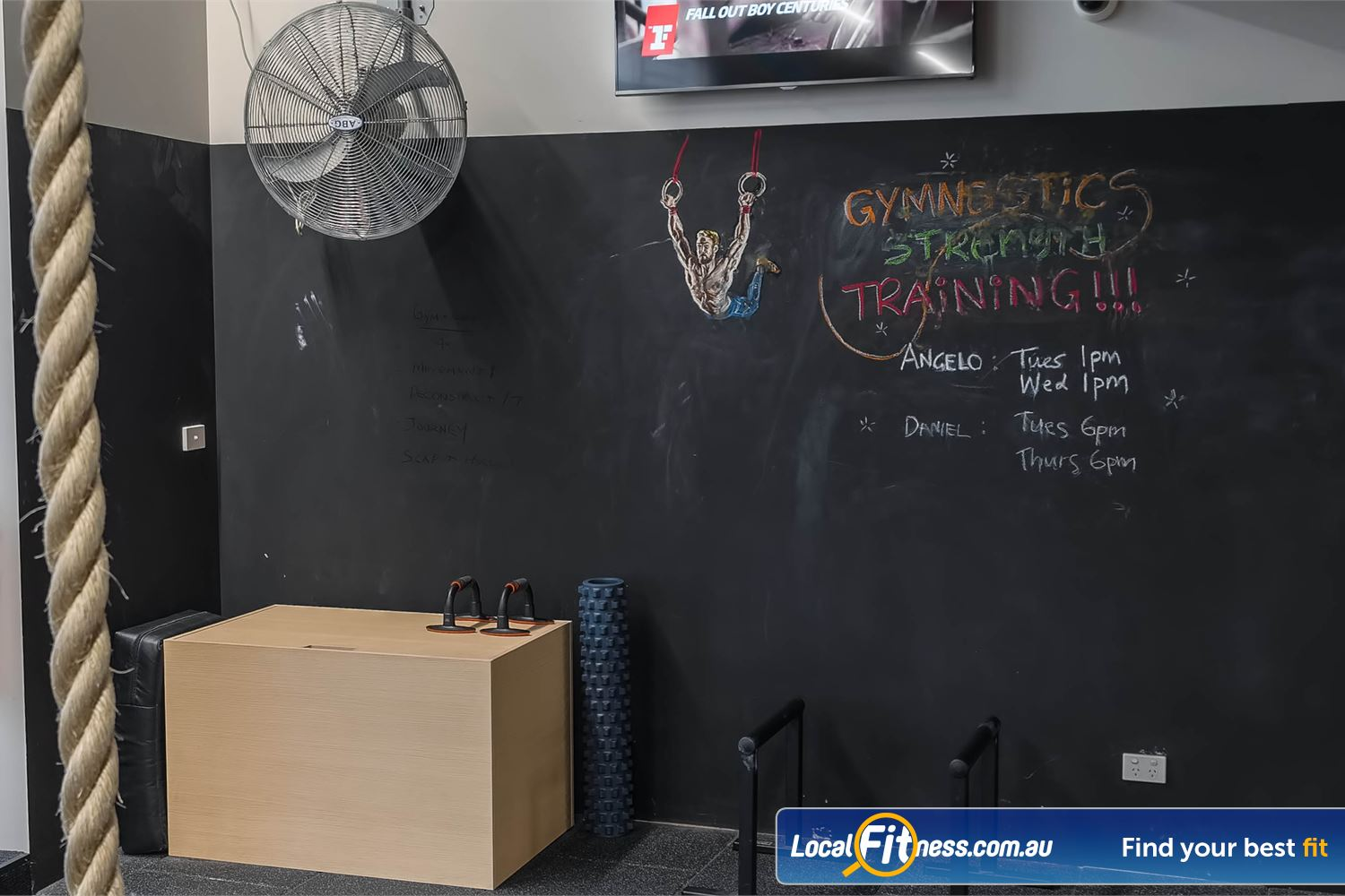 Fitness First Platinum Park St Near World Square Get your Gymnastic Strength Training and WOD (Workout fo the Day) at Fitness First Park St.