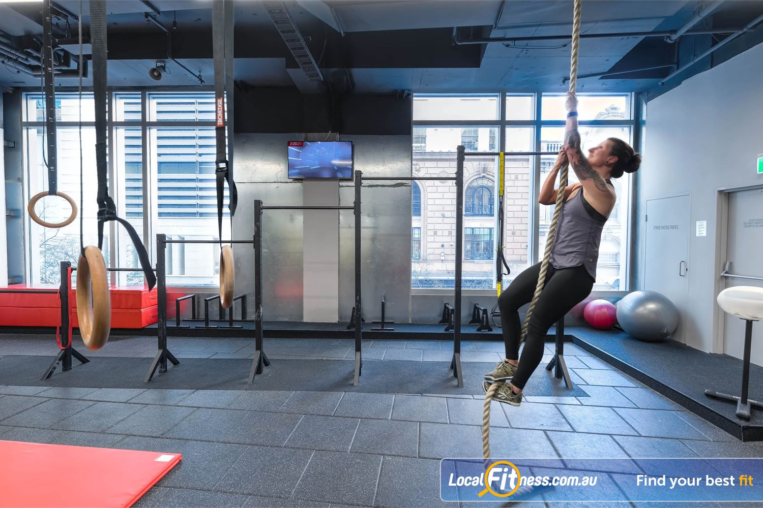 Fitness First Platinum Park St Near Alexandria Mc Strengthen your upper body with high-low bars, pull-up bars, climbing ropes and more.