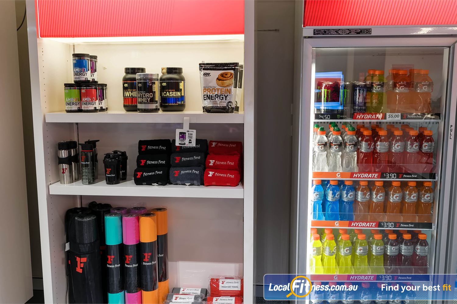 Fitness First Platinum Park St Sydney Get the latest Fitness First apparel and supplements.