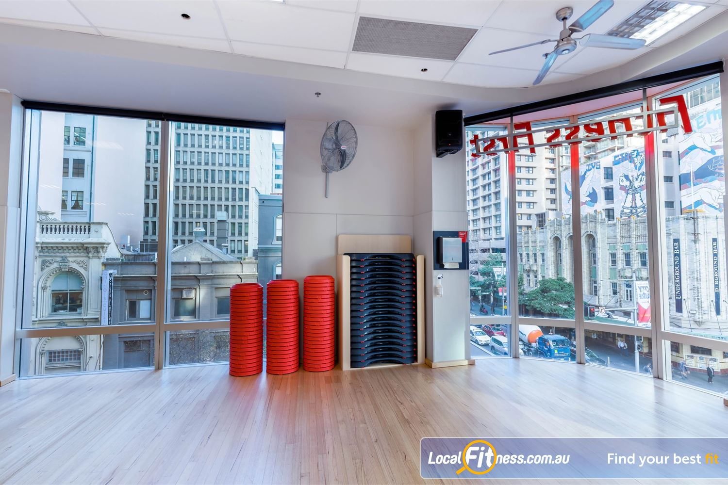 Fitness First Platinum Park St Sydney Over 39 classes per week inc. Sydney Pilates, Les Mills, and more