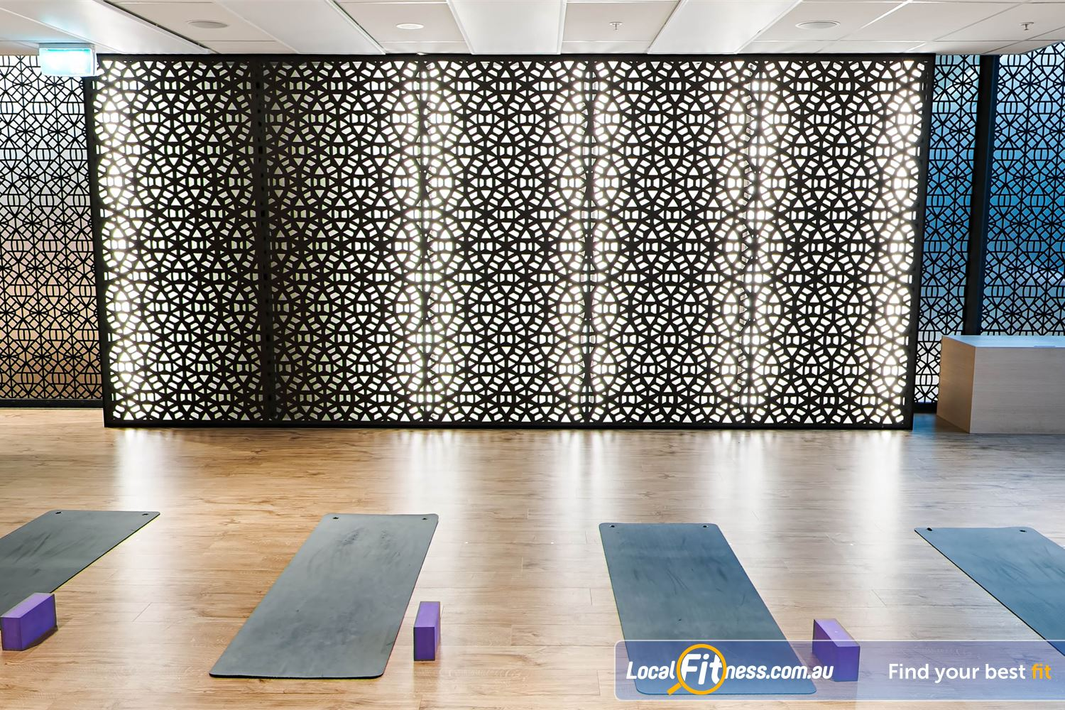 Fitness First Platinum Park St Sydney Dedicated mind and body studio for our range of Sydney Yoga classes.