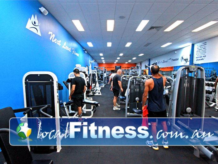 Next Level Fitness Gym Clayton  | State of the art equipment from Technogym and