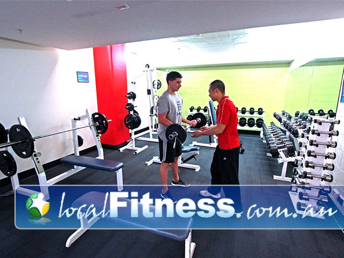 Healthstream Alfred Fitness Gym Prahran  | Fully equipped with dumbbells, barbells, benches and more.