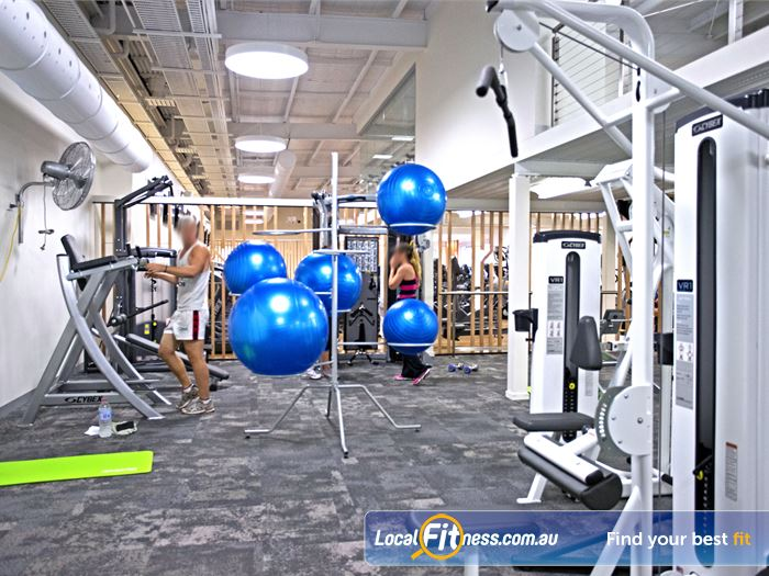 Goodlife Health Clubs Gym Salisbury  | Fully equipped and dedicated stretch and abs area.