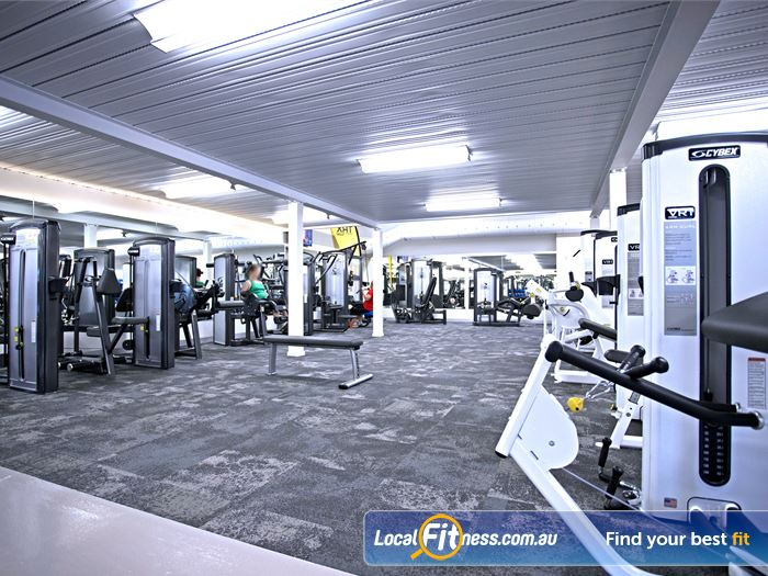 Goodlife Health Clubs Gym Burnside    Plenty of benches, dumbbells, barbells and more.