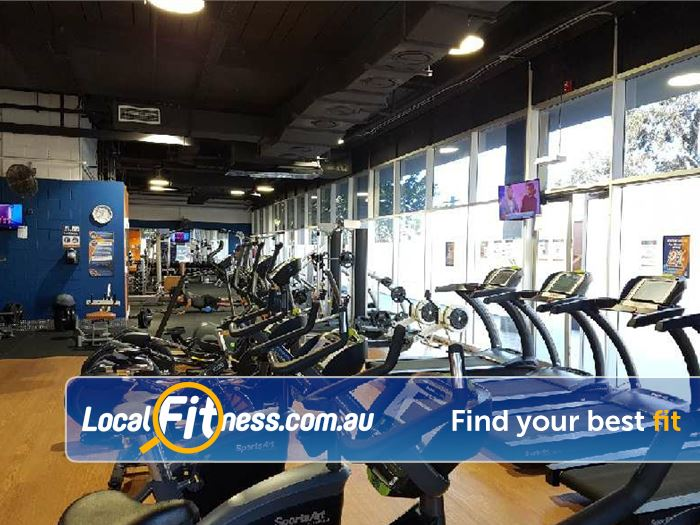 Plus Fitness 24/7 Gym Meadowbank  | Our Macquarie Park gym provides a comprehensive cardio