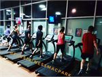 State of the art cardio with personal entertainment