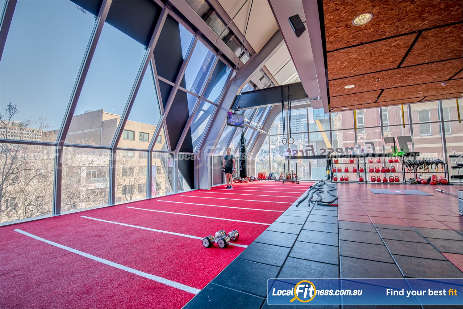 Fitness First QV Platinum Melbourne Welcome to the state of the art Fitness First QV Platinum gym.