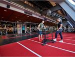Fitness First QV Platinum East Melbourne Gym Fitness Indoor speed/agility sled track