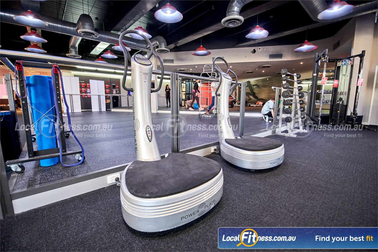 Fitness First QV Platinum Melbourne Power Plate training cuts a 60-minute workout down to 10 minutes.