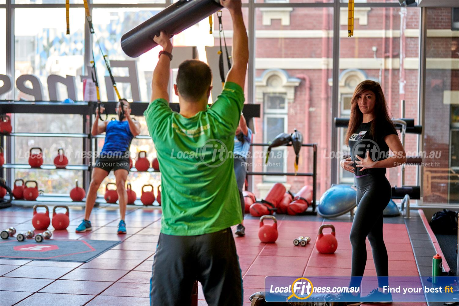 Fitness First QV Platinum Melbourne Our group fitness team is ready to guide you through your training.