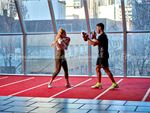 Fitness First QV Platinum Southbank Gym Fitness Stunning views of the Melbourne