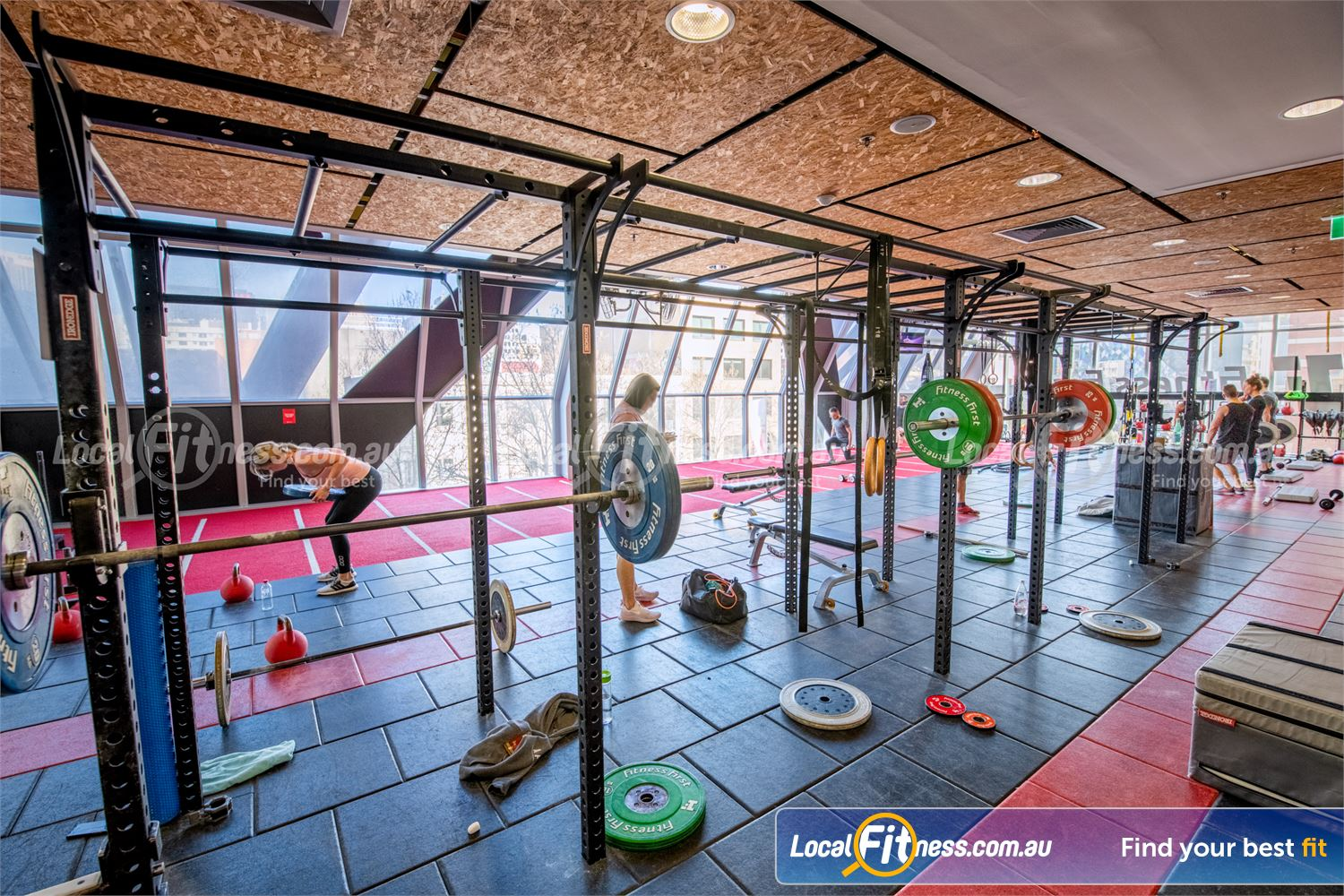 Fitness First QV Platinum Near East Melbourne Our strength matrix is perfect for functional training.
