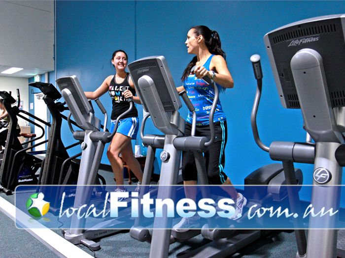 Fernwood Fitness Jindalee Fernwood Jindalee gym instructors can help you with cardio and weight management.