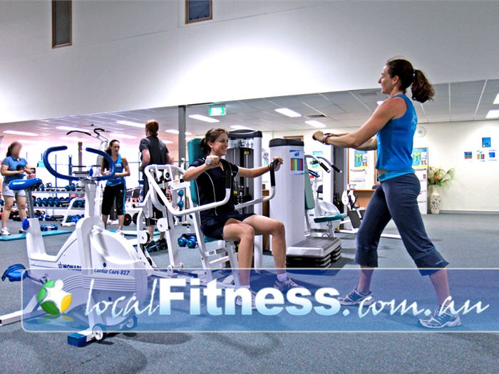 Fernwood Fitness Near Middle Park Fernwood Jindalee gym instructors can help you progress with your strength training.