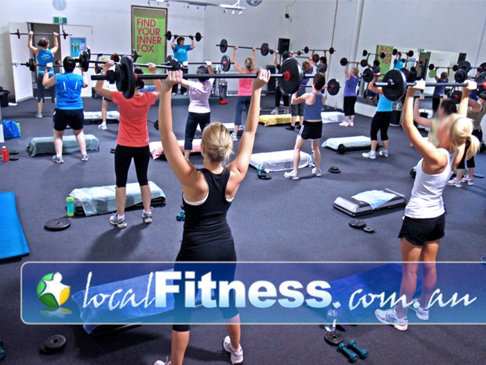 Fernwood Fitness Near Mount Ommaney Private ladies only aerobics studio for our Jindalee group fitness classes.