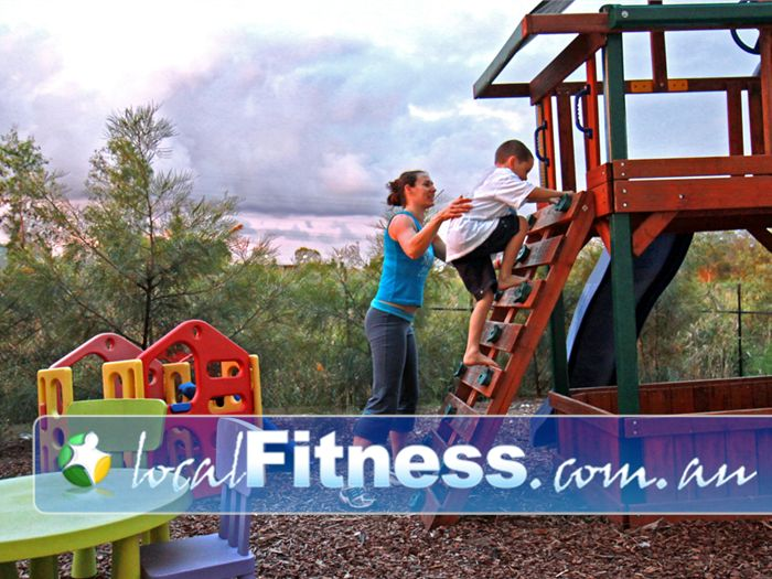 Fernwood Fitness Jindalee One of the only Fernwood's that provides an outdoor children's playground.