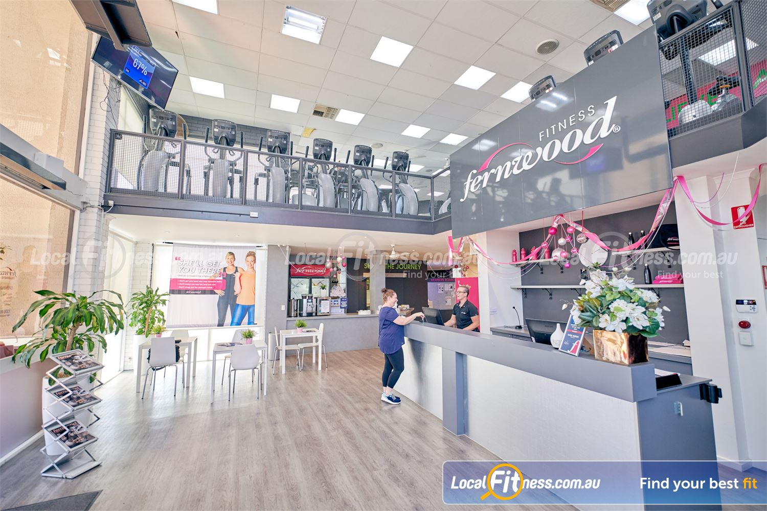 Fernwood Fitness Tullamarine Welcome to Fernwood Fitness Tullamarine women's gym.