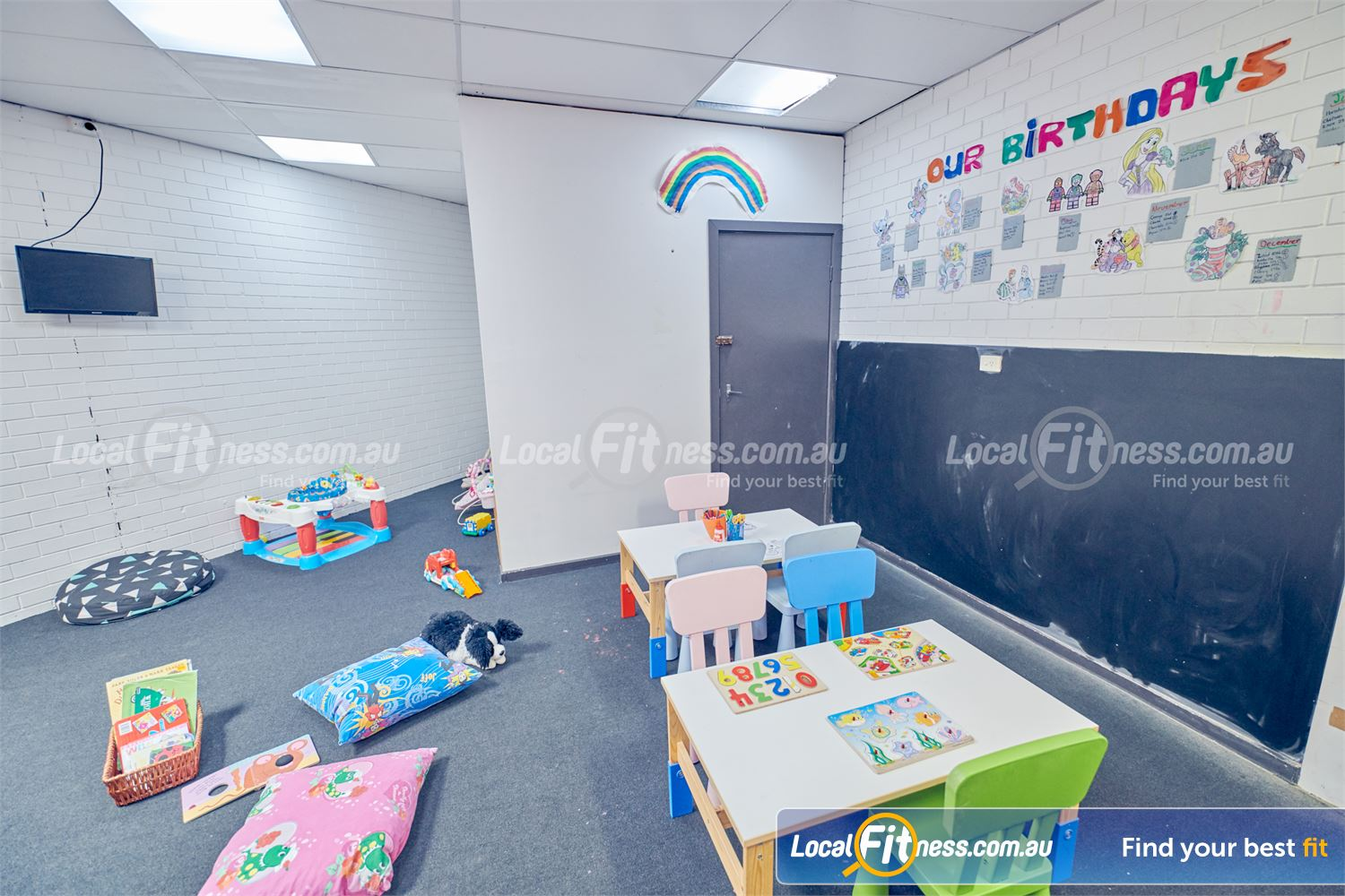 Fernwood Fitness Near Jacana Convenient on-site Tullamarine child minding.