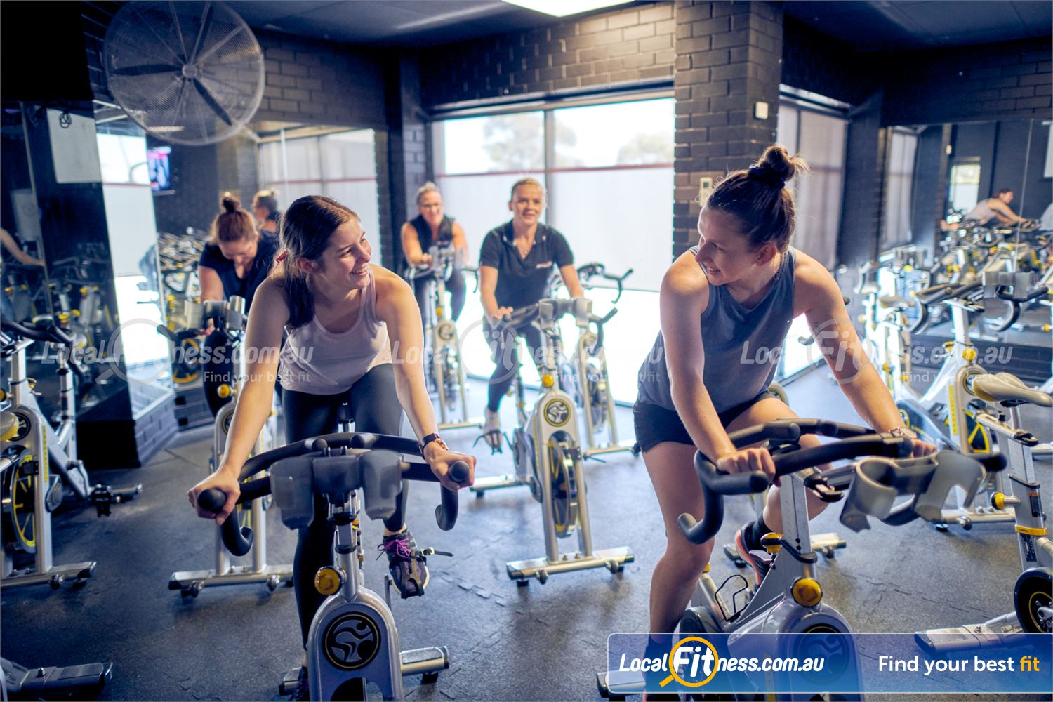 Fernwood Fitness Near Westmeadows Boogie yourself into shape with our Tullamarine cycle classes.