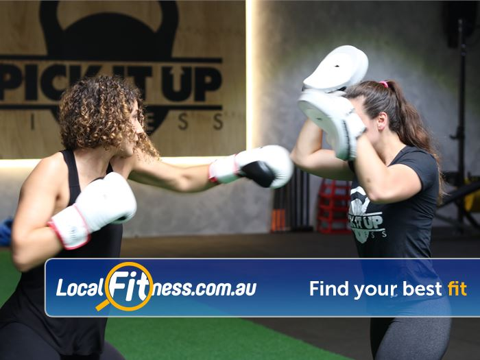 Pick It Up Fitness Gym Keysborough  | Challenge your fitness with Mulgrave boxing classes.