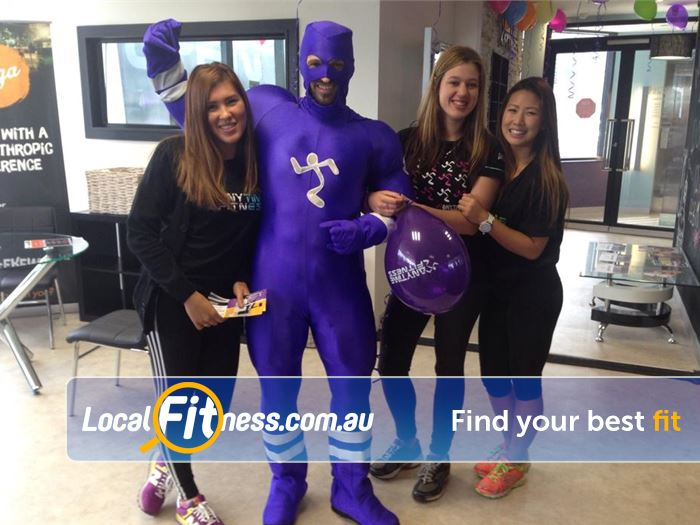Anytime Fitness Doncaster The friendly and fun atmosphere at Anytime Fitness Doncaster gym.